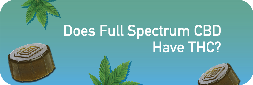 does full spectrum cbd have thc
