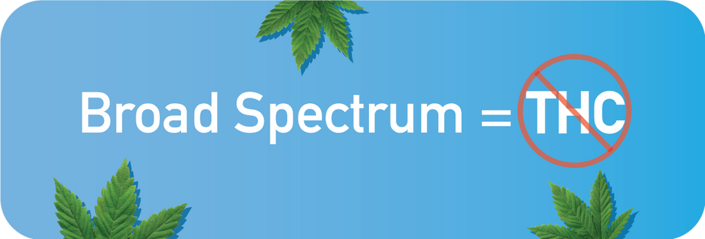 does broad spectrum mean no thc
