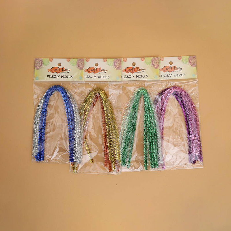 Craft Easy Fuzzy Wire--[Product vendor]-GooglyGooeys-DIY-Crafts-Philippines