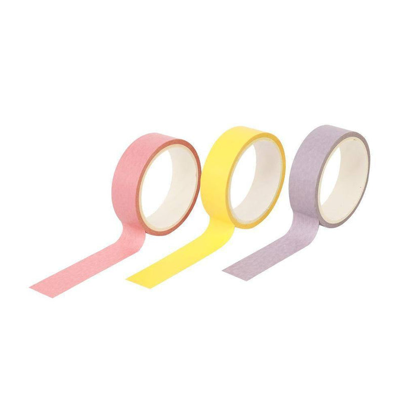 Craft Easy Washi Tape Set Glittered Pink / Blue and Sky Blue--[Product vendor]-GooglyGooeys-DIY-Crafts-Philippines