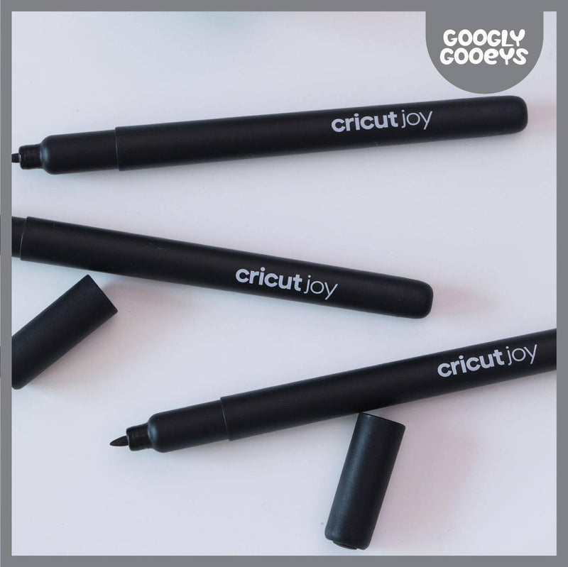 Cricut Joy Infusible Ink Markers 1.0 (3 ct) | Black-Cricut Joy Accessories-[Product vendor]-GooglyGooeys-DIY-Crafts-Philippines