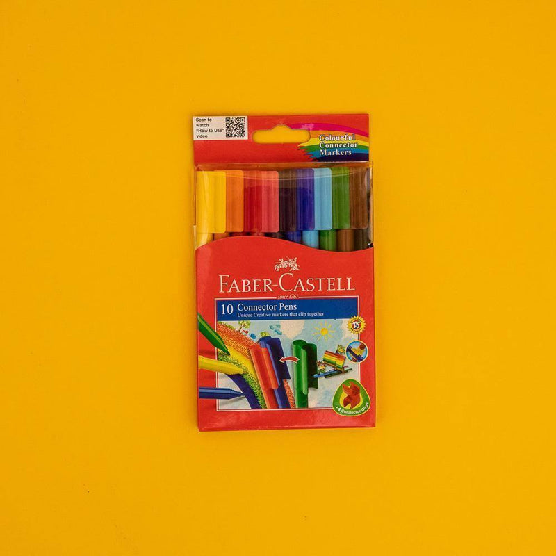 Faber-Castell Connector Pens 10 Color