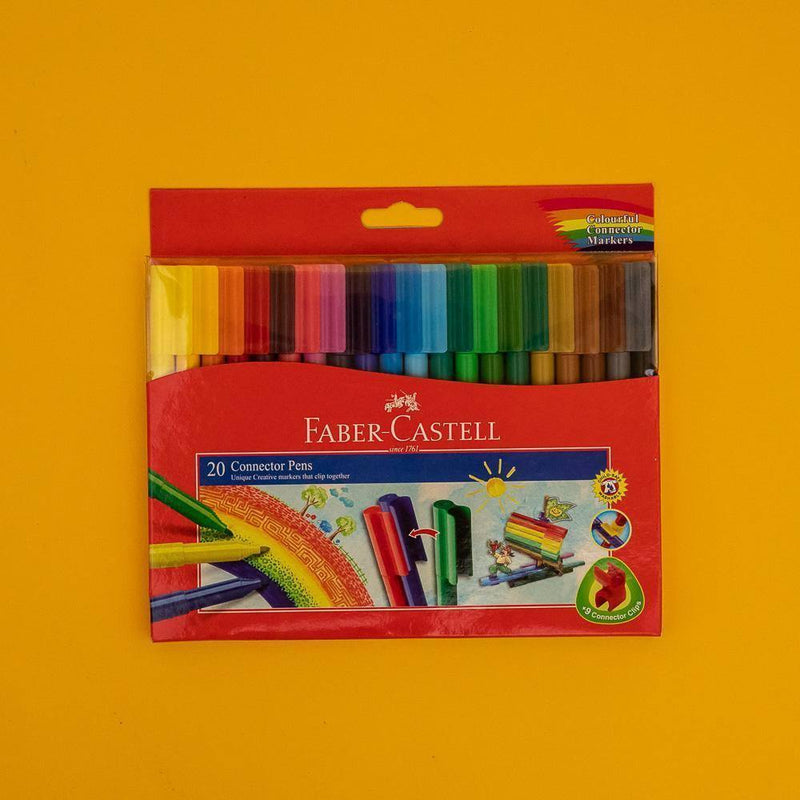 Faber-Castell Connector Pens 20 Color