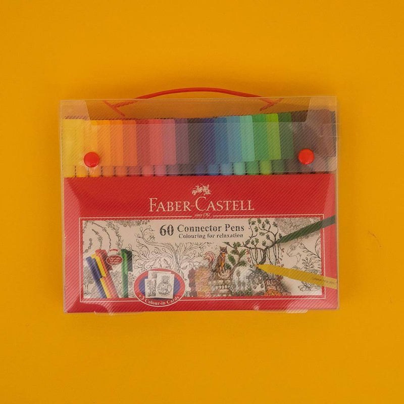 Faber-Castell Connector Pens 60 Color