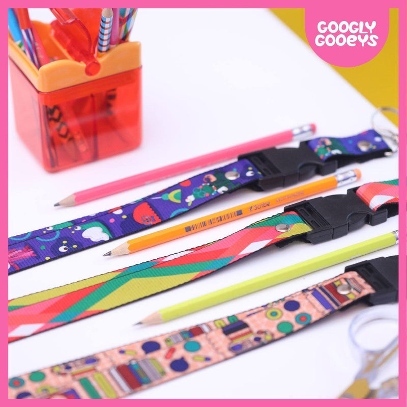 Googly Gooeys Merch - Lanyards (Monsters)-Merch-[Product vendor]-GooglyGooeys-DIY-Crafts-Philippines