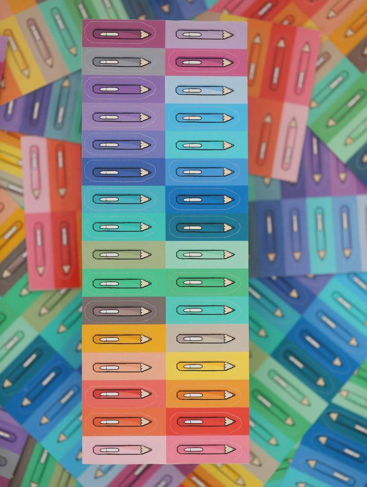Googly Gooeys Merch - Stickers (Colored Pencils in Glossy)-Merch-[Product vendor]-GooglyGooeys-DIY-Crafts-Philippines