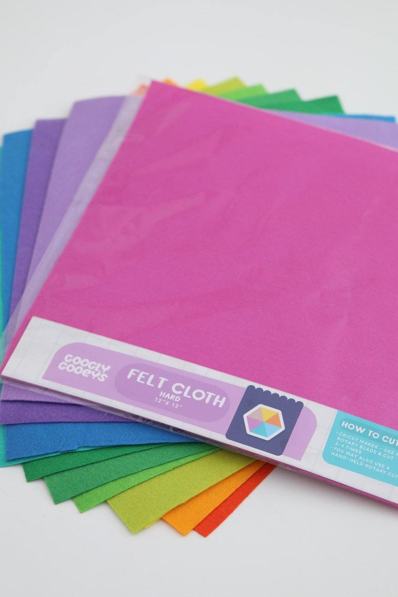 GooglyGooeys Bright| Hard Felt Cloth Fabric-Felt-GooglyGooeys | Cricut | Arts Craft and DIY Store based in the Philippines