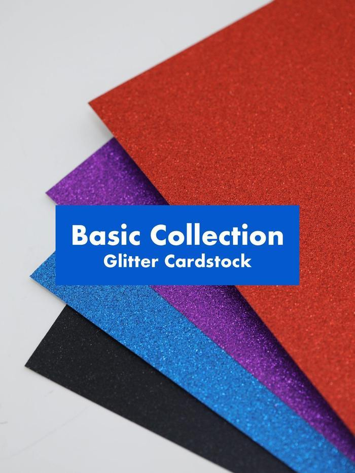 GooglyGooeys Glitter Cardstock Premium Collection DIY Crafts Paper Art Material Cake Top-Cardstock-GooglyGooeys | Cricut | Arts Craft and DIY Store based in the Philippines