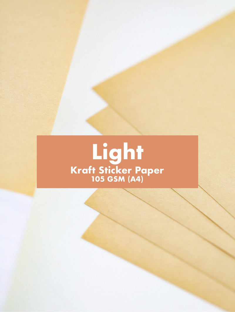 GooglyGooeys Kraft Sticker Paper-Paper-GooglyGooeys | Cricut | Arts Craft and DIY Store based in the Philippines