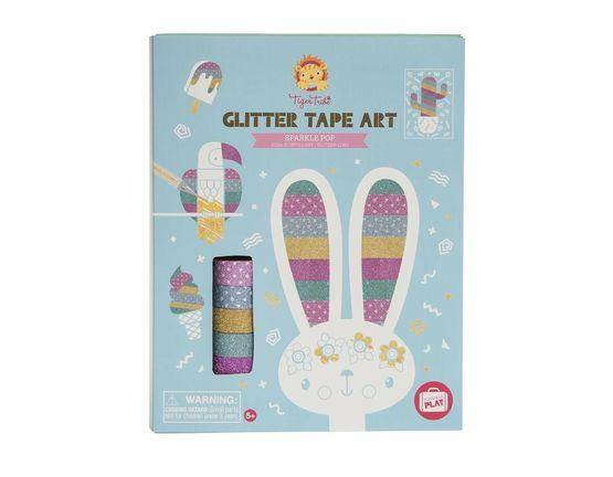Tiger Tribe Glitter Tape Art - Sparkle Pop-Toys & Games-[Product vendor]-GooglyGooeys-DIY-Crafts-Philippines
