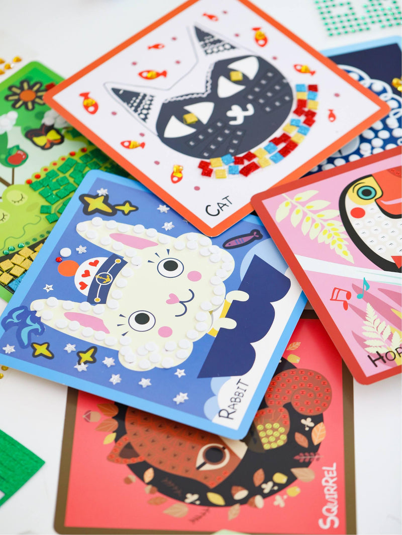 Tokyo Finds Kids My First 3D Sticker Art-Tokyo Finds-[Product vendor]-GooglyGooeys-DIY-Crafts-Philippines