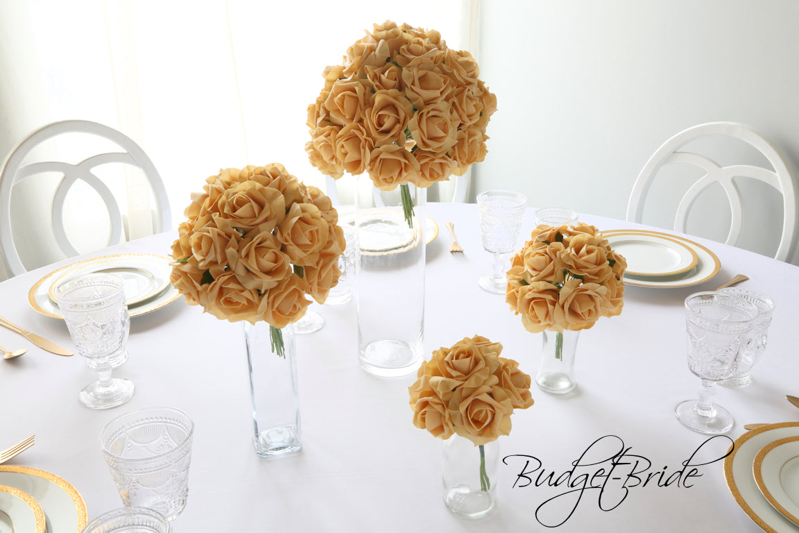 Beige Rose Bundle - #RB001 - $5 - $35