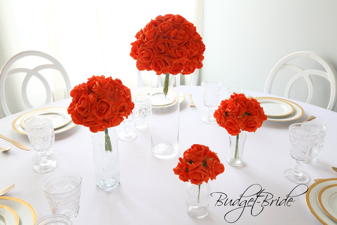 Orange Rose Bundle - #RB014 - $5 - $35