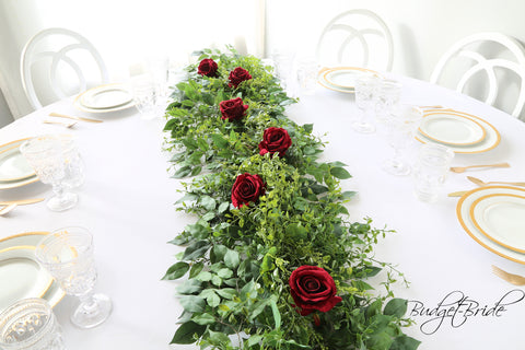 Foliage and Flower Runner - #CP880a - $275.00