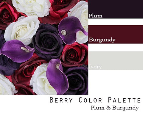 Berry Color Palette - Elopement Package