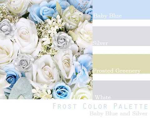 Frost Color Palette - Elopement Package