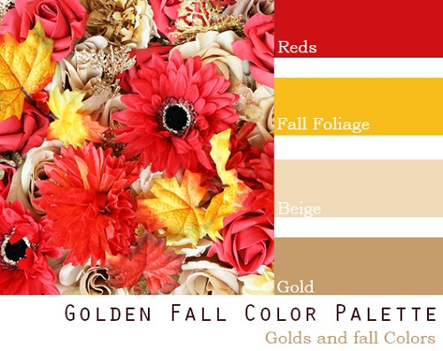 Golden Fall Color Palette - Elopement Package