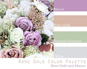 Rose Gold Color Palette - Elopement Package