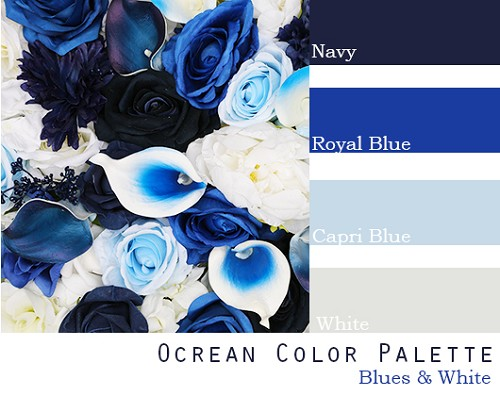 Ocrean Color Palette - Elopement Package