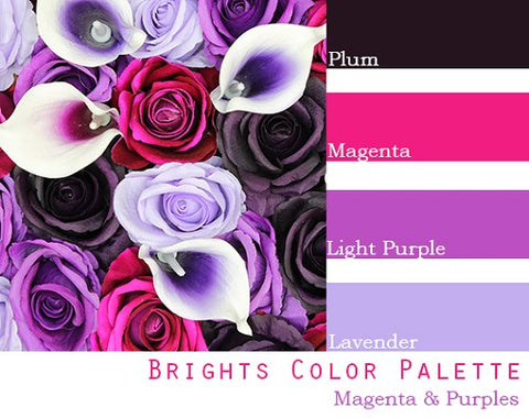 Brights Color Palette - Elopement Package