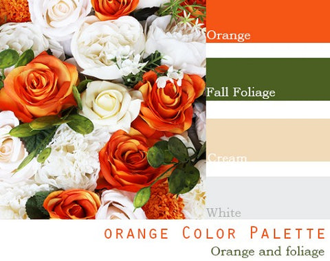 Orange Color Palette - $100 Package