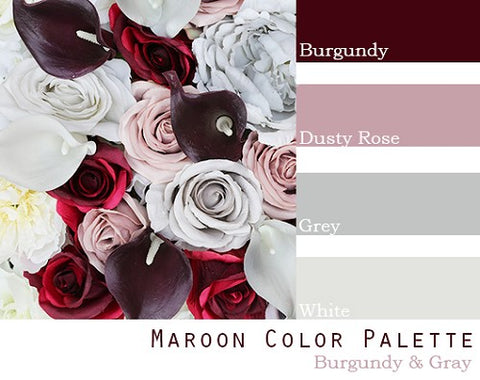 Maroon Color Palette - $100 Package