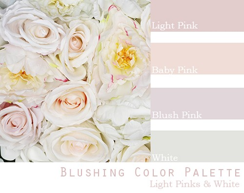 Blushing Color Palette - Elopement Package