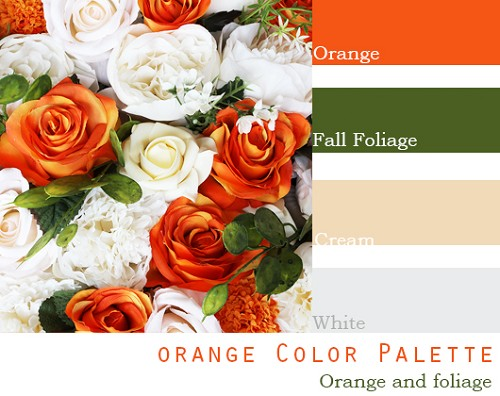 Orange Color Palette - Elopement Package