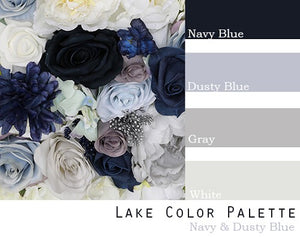 Lake Color Palette - Elopement Package