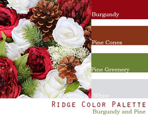 Ridge Color Palette - Elopement Package