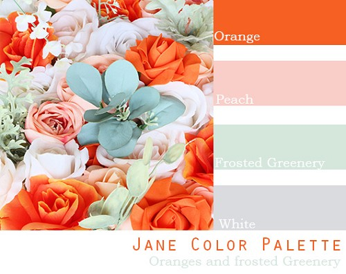 Jane Color Palette - Elopement Package