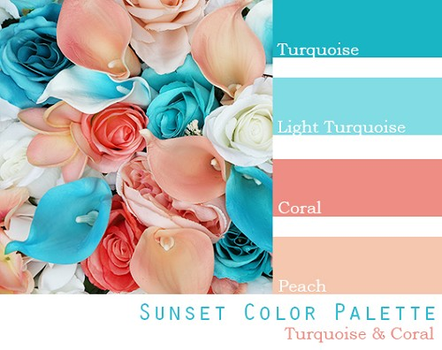 Sunset Color Palette - Elopement Package