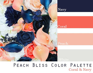 Peach Bliss Color Palette - Elopement Package