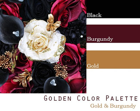 Golden Color Palette - Elopement Package