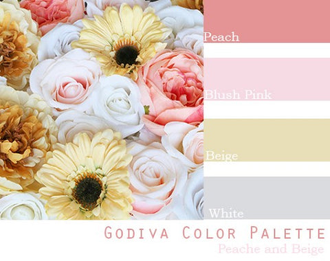 Godiva Color Palette - Elopement Package