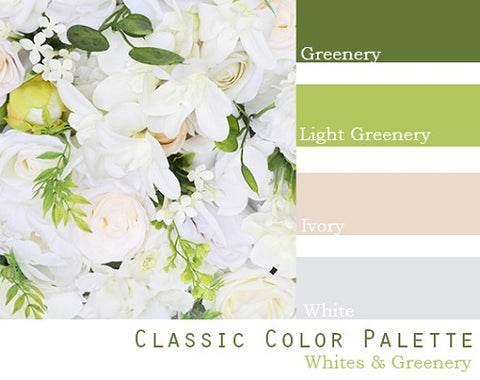 Classic Color Palette - Elopement Package