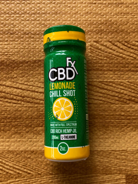 CBD Lemon Chill Shots