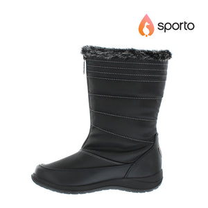 Sporto Audrey Womens Waterproof Snow Boots