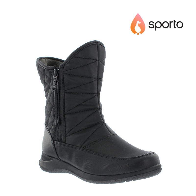 Sporto Layla Womens Waterproof Snow Boots