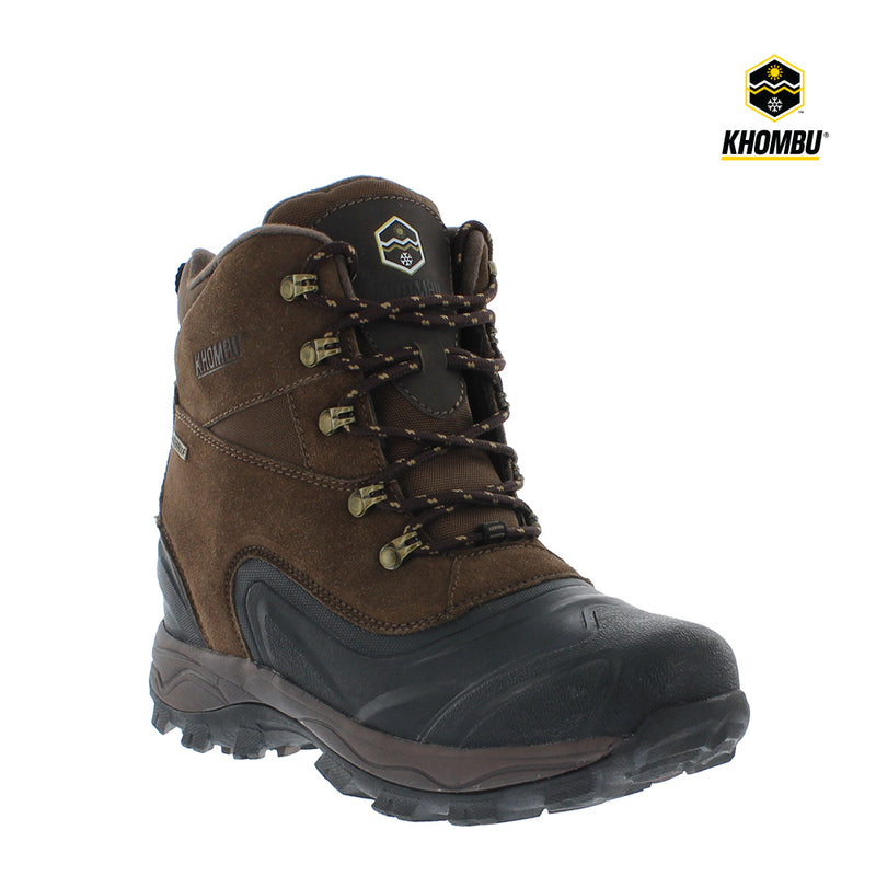 Khombu Bowman Mens Waterproof Snow Boots
