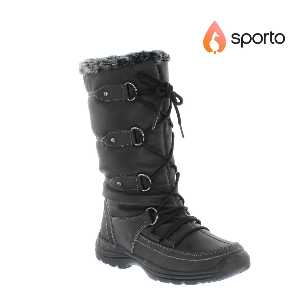 Sporto Tessa Womens Waterproof Snow Boots