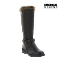 Boston Accent Martha Womens Waterproof Fashion Snow Boots