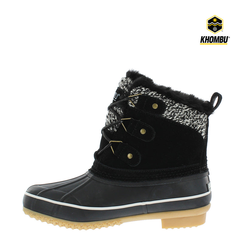 Khombu Lola Womens Waterproof Snow Boots
