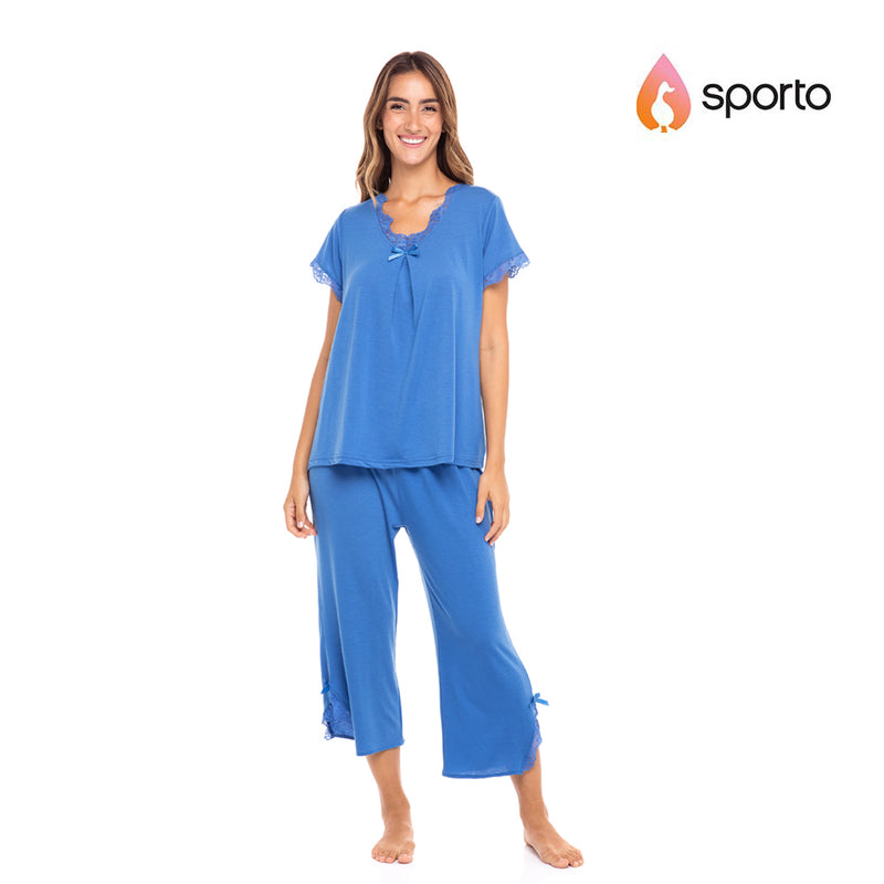 Sporto Ladies Raglan Pant Set