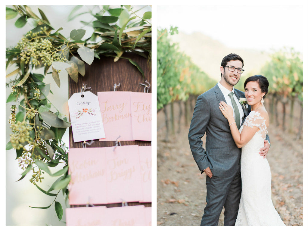 jennifer raichman ketubah at solace resort calistoga