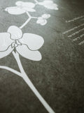 Signature Ketubah Design (Washi Paper) Orchid Branch