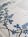 Signature Ketubah Design (Japanese Washi) Grapevines