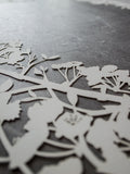 Ketubah Papercut - Cherry Blossoms