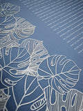 Ketubah Papercut - Tropical Flora