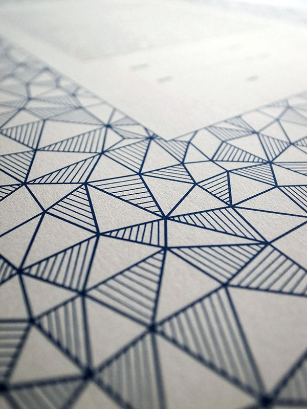 Signature Ketubah Design (Cotton Paper) Geometric